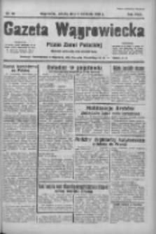 Gazeta Wągrowiecka: pismo ziemi pałuckiej 1938.04.09 R.18 Nr82