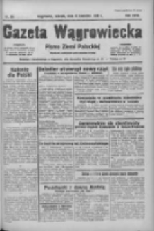 Gazeta Wągrowiecka: pismo ziemi pałuckiej 1938.04.12 R.18 Nr84