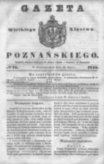 Gazeta Wielkiego Xięstwa Poznańskiego 1845.03.31 Nr74