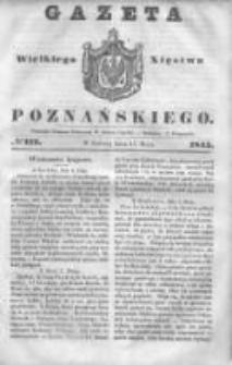 Gazeta Wielkiego Xięstwa Poznańskiego 1845.05.17 Nr112
