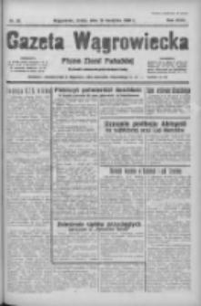 Gazeta Wągrowiecka: pismo ziemi pałuckiej 1938.04.13 R.18 Nr85
