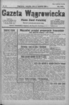 Gazeta Wągrowiecka: pismo ziemi pałuckiej 1938.04.21 R.18 Nr91