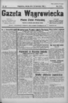 Gazeta Wągrowiecka: pismo ziemi pałuckiej 1938.04.22 R.18 Nr92