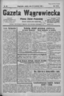 Gazeta Wągrowiecka: pismo ziemi pałuckiej 1938.04.29 R.18 Nr98