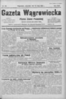 Gazeta Wągrowiecka: pismo ziemi pałuckiej 1938.05.19 R.18 Nr114