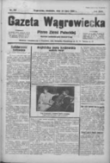 Gazeta Wągrowiecka: pismo ziemi pałuckiej 1938.07.24 R.18 Nr167