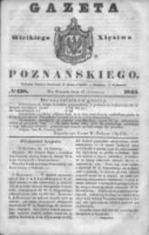 Gazeta Wielkiego Xięstwa Poznańskiego 1845.06.17 Nr138
