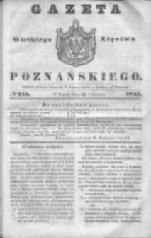 Gazeta Wielkiego Xięstwa Poznańskiego 1845.06.25 Nr145