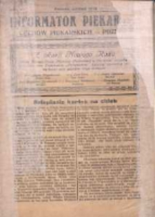 Informator Piekarski: Cechów Piekarskich - Poznań 1933 styczeń R.2 Nr1