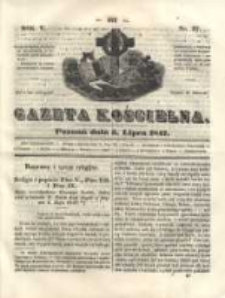 Gazeta Kościelna 1847.07.05 R.5 Nr27