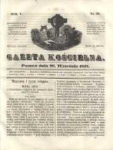 Gazeta Kościelna 1847.09.20 R.5 Nr38