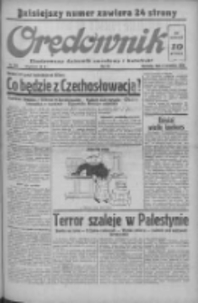 Orędownik: ilustrowany dziennik narodowy i katolicki 1938.09.04 R.68 Nr203
