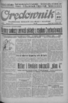Orędownik: ilustrowany dziennik narodowy i katolicki 1938.09.09 R.68 Nr207