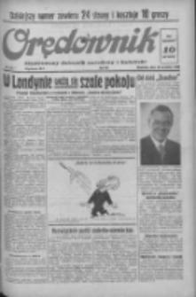 Orędownik: ilustrowany dziennik narodowy i katolicki 1938.09.18 R.68 Nr215