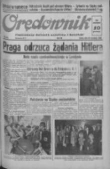 Orędownik: ilustrowany dziennik narodowy i katolicki 1938.09.28 R.68 Nr223