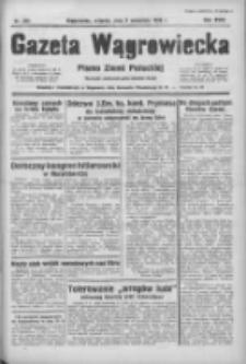Gazeta Wągrowiecka: pismo ziemi pałuckiej 1938.09.06 R.18 Nr203