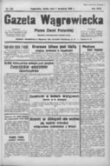 Gazeta Wągrowiecka: pismo ziemi pałuckiej 1938.09.07 R.18 Nr204