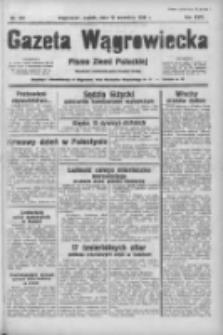 Gazeta Wągrowiecka: pismo ziemi pałuckiej 1938.09.16 R.18 Nr212