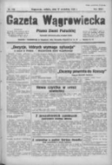 Gazeta Wągrowiecka: pismo ziemi pałuckiej 1938.09.17 R.18 Nr213