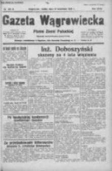 Gazeta Wągrowiecka: pismo ziemi pałuckiej 1938.09.21 R.18 Nr216