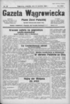 Gazeta Wągrowiecka: pismo ziemi pałuckiej 1938.09.22 R.18 Nr217