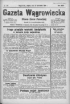Gazeta Wągrowiecka: pismo ziemi pałuckiej 1938.09.23 R.18 Nr218