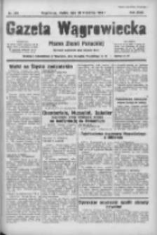 Gazeta Wągrowiecka: pismo ziemi pałuckiej 1938.09.30 R.18 Nr224