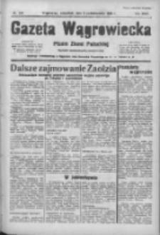 Gazeta Wągrowiecka: pismo ziemi pałuckiej 1938.10.06 R.18 Nr229