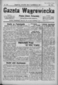 Gazeta Wągrowiecka: pismo ziemi pałuckiej 1938.10.27 R.18 Nr247