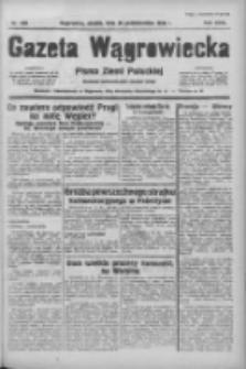 Gazeta Wągrowiecka: pismo ziemi pałuckiej 1938.10.28 R.18 Nr248