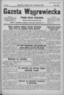 Gazeta Wągrowiecka: pismo ziemi pałuckiej 1938.11.15 R.18 Nr261
