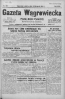 Gazeta Wągrowiecka: pismo ziemi pałuckiej 1938.11.19 R.18 Nr265