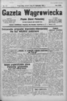 Gazeta Wągrowiecka: pismo ziemi pałuckiej 1938.11.26 R.18 Nr271