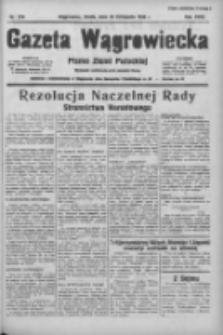 Gazeta Wągrowiecka: pismo ziemi pałuckiej 1938.11.30 R.18 Nr274