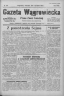 Gazeta Wągrowiecka: pismo ziemi pałuckiej 1938.12.04 R.18 Nr278