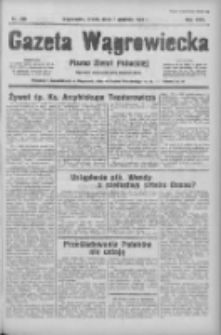 Gazeta Wągrowiecka: pismo ziemi pałuckiej 1938.12.06 R.18 Nr279