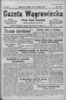 Gazeta Wągrowiecka: pismo ziemi pałuckiej 1938.12.20 R.18 Nr290