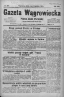 Gazeta Wągrowiecka: pismo ziemi pałuckiej 1938.12.30 R.18 Nr298