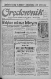 Orędownik: ilustrowany dziennik narodowy i katolicki 1938.10.23 R.68 Nr245