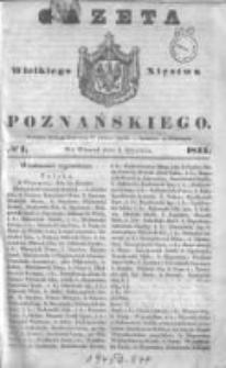 Gazeta Wielkiego Xięstwa Poznańskiego 1844.01.02 Nr1