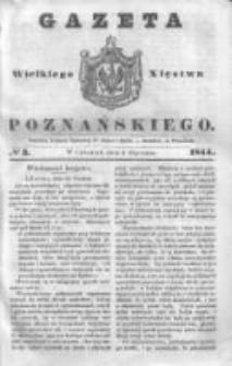 Gazeta Wielkiego Xięstwa Poznańskiego 1844.01.04 Nr3