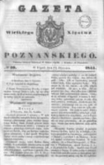 Gazeta Wielkiego Xięstwa Poznańskiego 1844.01.12 Nr10
