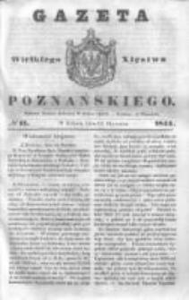 Gazeta Wielkiego Xięstwa Poznańskiego 1844.01.13 Nr11