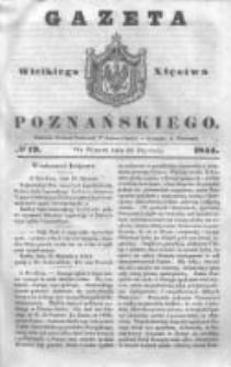 Gazeta Wielkiego Xięstwa Poznańskiego 1844.01.23 Nr19
