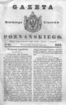 Gazeta Wielkiego Xięstwa Poznańskiego 1844.01.25 Nr21