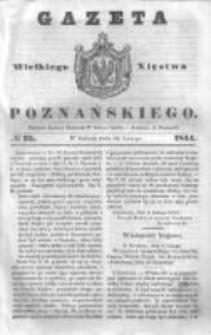 Gazeta Wielkiego Xięstwa Poznańskiego 1844.02.10 Nr35