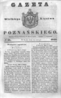 Gazeta Wielkiego Xięstwa Poznańskiego 1844.02.14 Nr38