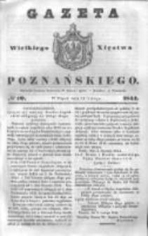 Gazeta Wielkiego Xięstwa Poznańskiego 1844.02.16 Nr40