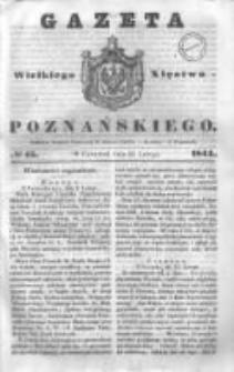 Gazeta Wielkiego Xięstwa Poznańskiego 1844.02.22 Nr45