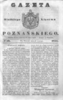 Gazeta Wielkiego Xięstwa Poznańskiego 1844.02.27 Nr49